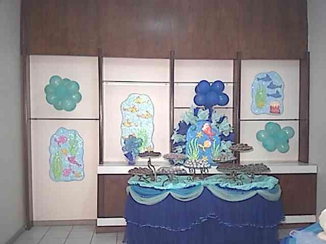 FESTA INFANTIL FUNDO DO MAR BUFFET CASA DA ALEGRIA DECOROU A CASA DE ...: http://www.akyfesta.com.br/infantil250703.htm