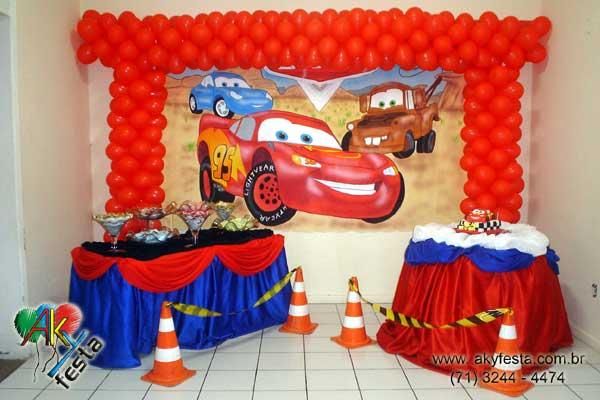 Decoracion Infantil De Cars ~ Festa tema CARROS CARS decoracao para festa bolos decorados fazendinha