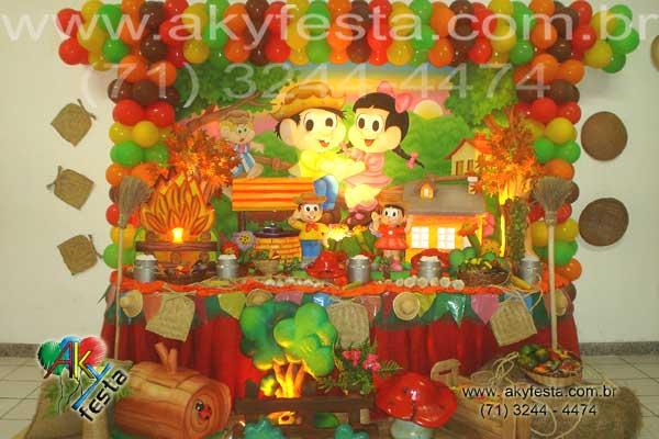 junino bolo de sao joao buffet com chopp aniversario infantil casa de ...
