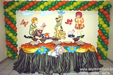 Festa Infantil Scooby Doo