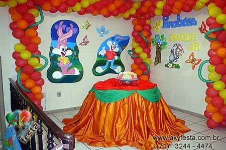 Decoraciónes de fiestas infantiles de baby looney tunes - Imagui