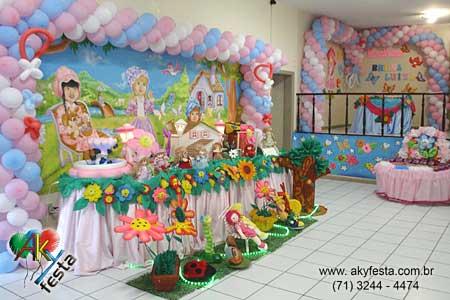 decoração de festa para menina