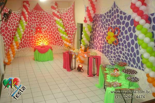 decoracao festa glow:Festa infantil tema decoracao floresta animacao pipokinha eventos